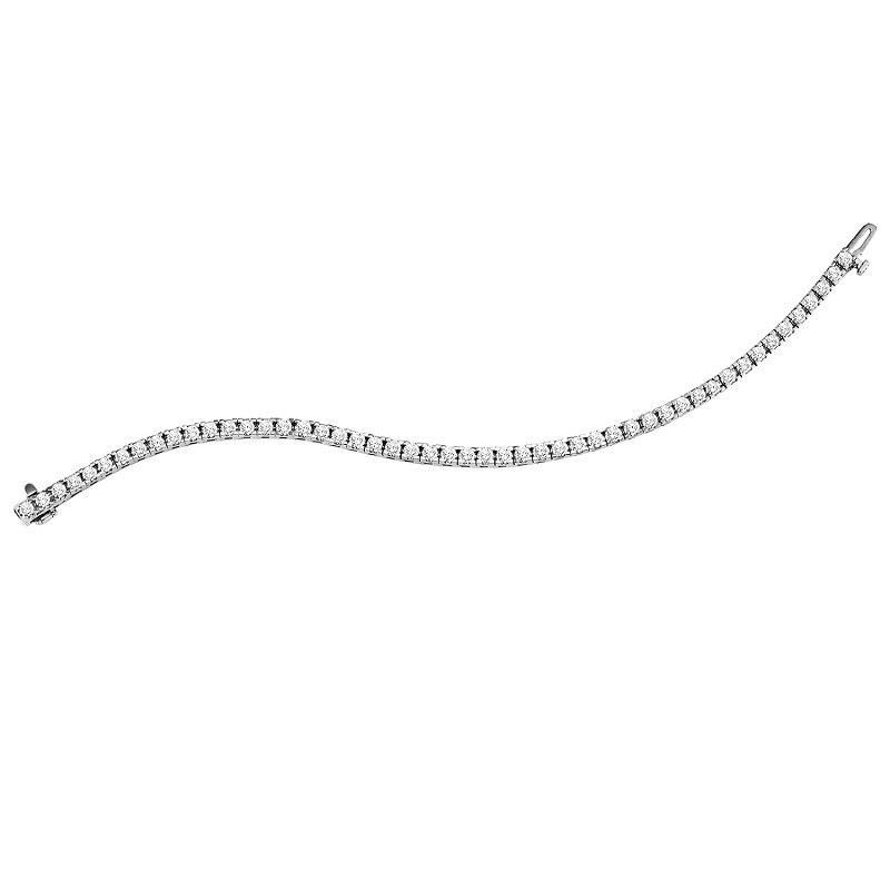 14K Diamond Bracelet 7 ctw