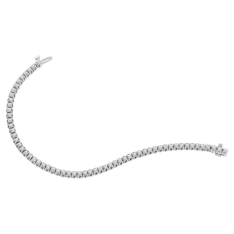14K Diamond Bracelet 3 ctw