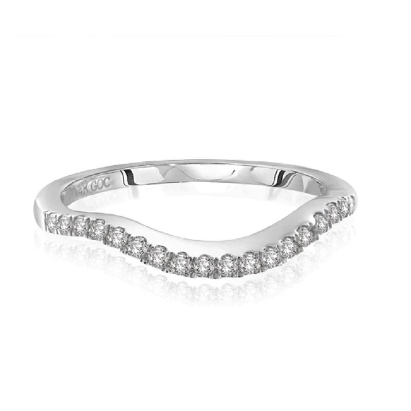 14K Diamond Band 1/5 ctw