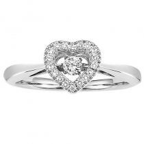 10K Rhythm Of Love Ring