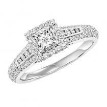 14K Diamond Dynamix Engagement Ring 1 ctw