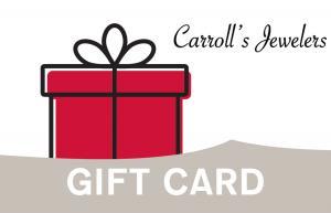Carrolls Gift Card - $50