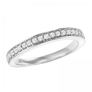 14K Diamond Matching Band 1/4 ctw